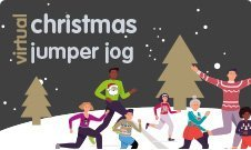 christmas jumper jog
